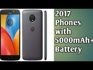Best smartphones with 5000mAh battery