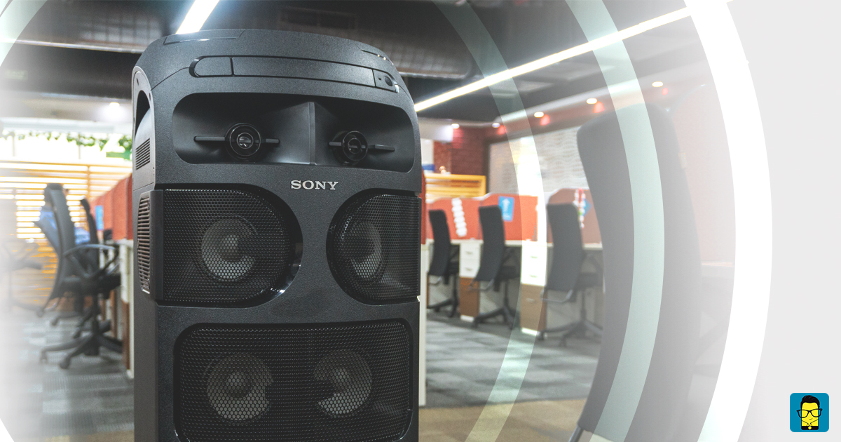 Sony Mhc V81d Review A Monstrously Loud Party Speaker That Sounds Like A Bass Cannon Mr Phone