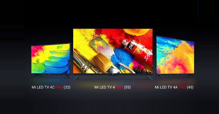 Xiaomi Mi TVs - Three models